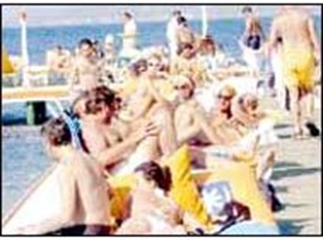 Bodrum'da 'beach' furyası